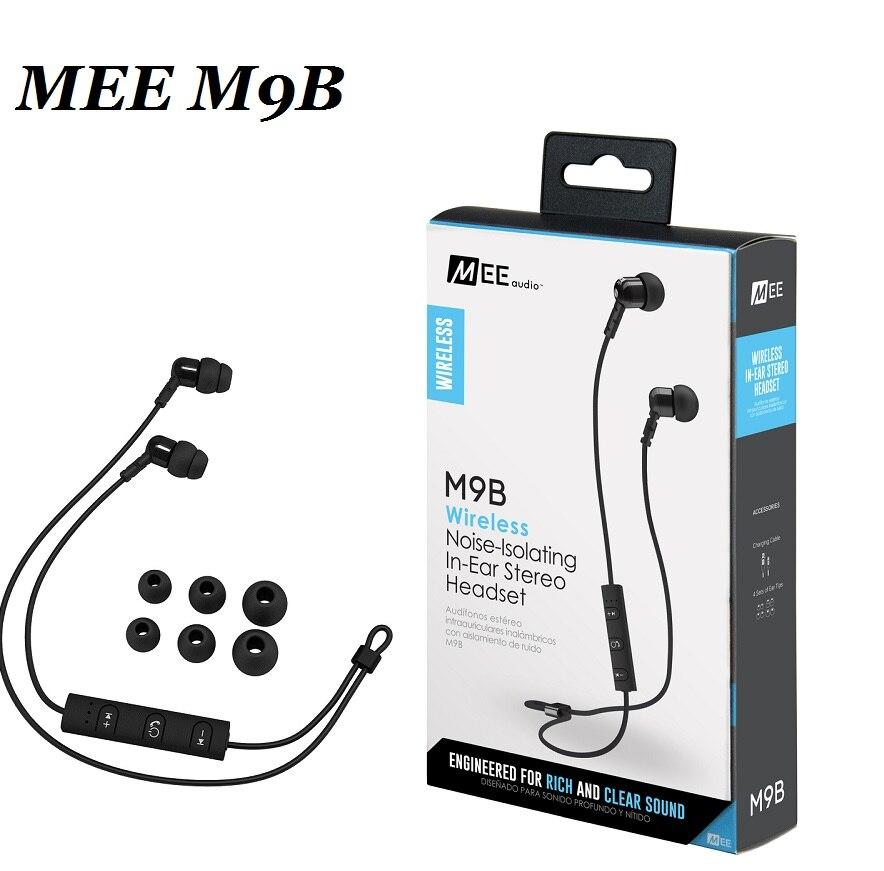 bilder für 2017 MEE audio M9B Drahtlose Geräuschisolation In Ohr Stereo Headset Bluetooth Kopfhörer HiFi Sport kopfhörer Mit Mic PK PB2.0