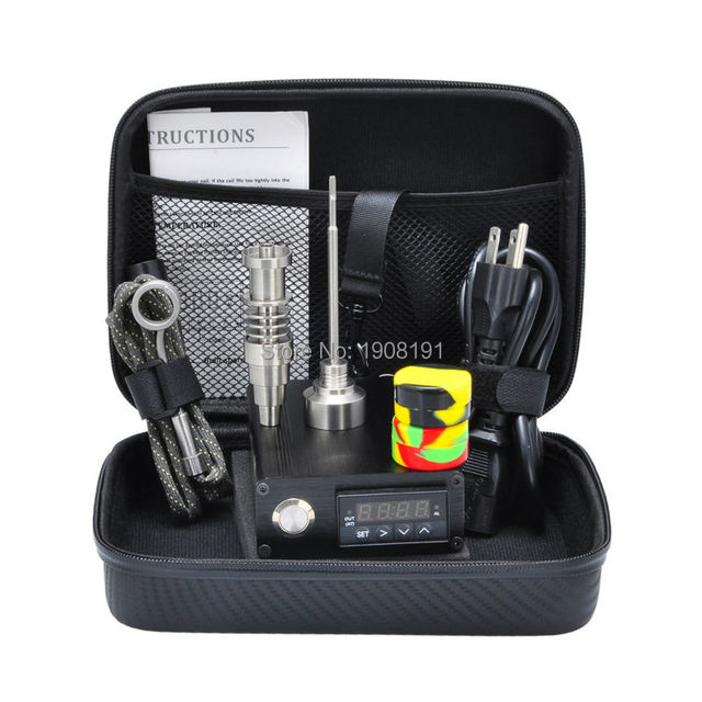 Eléctrico del clavo Titanium uñas 10mm/16mm/20mm kit calentador ...