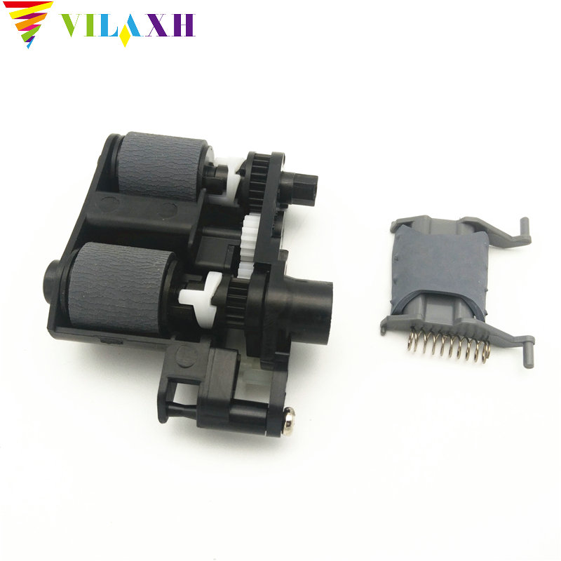 Vilaxh 1set Suitable for HP M1536 CM1415 M175 M225 M276 Manuscript feeder paper picker pickup Roller+Page Splitter