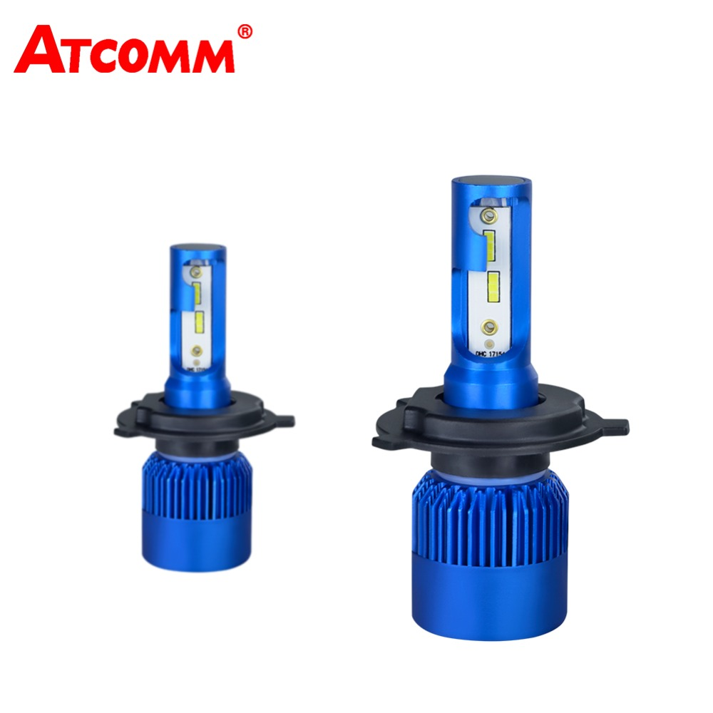 все цены на H1 H4 LED Headlight H7 12V Car Mini Bulb H11/H9 9005/HB3 9006/HB4 CSP Chip 10000Lm 72W 6500K 24V LED Automobile Lamp Car Light