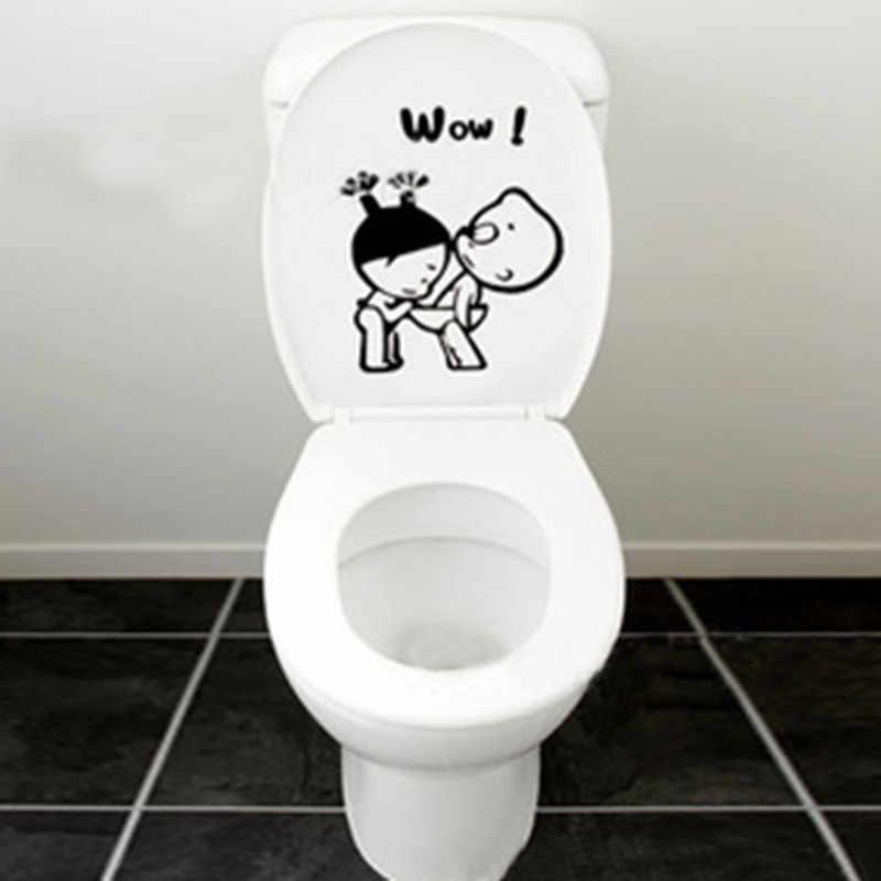 Muro Del Bagno Adesivi Toilette Toilette Complementi Arredo Casa Zione Smontabile Della Parete Delle Decalcomanie per Servizi Igienici Adesivo Decorativo Pasta Complementi Arredo Casa 1 Pcs 40