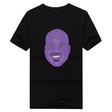 2016 Hall of Fame SHAQ Shaquille O'Neal o neal summer T-Shirt 100% cotton  T Shirts Men Wear T-Shirt