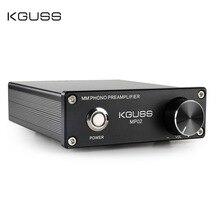 KGUSS MP02 LP ויניל שיא נגן מיני MM PHONO phono preamp אודיו מגבר