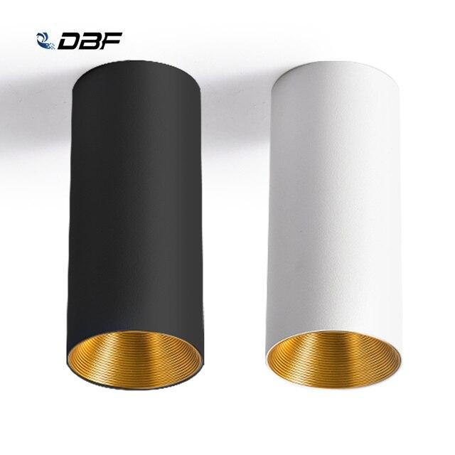 [DBF] נורדי COB צמודי Downlight 10W 12W 15W רקע קיר בגדי חנות Showcase חלון LED תקרת ספוט תאורה