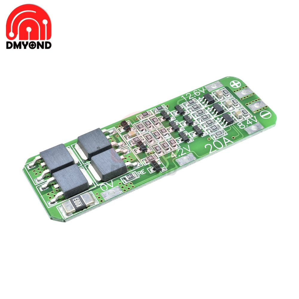 3S 3 Serial 20A Li-ion Lithium Battery 18650 Charger PCB BMS Protection Board For Drill Motor 12.6V Lipo Cell Module 64x20x3.4mm