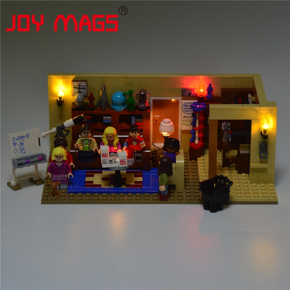 JOY MAGS Led Building Blocks Light Up Kit för Big Bang Theory Idea - Byggklossar och byggleksaker - Foto 2