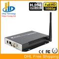 DHL Frete Grátis SD/HD/3G SDI Para Fluxo de IP RTSP Codificador de Vídeo H.264 HD sem fio Wifi Codificador RTMP IPTV Streaming Ao Vivo codificador