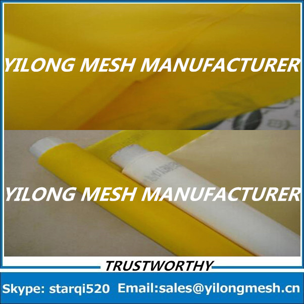 Free Shipping!!! 122mesh 15 Meters 48T -280cm White Monofilament Polyester T-Shirt Screen Printing Mesh