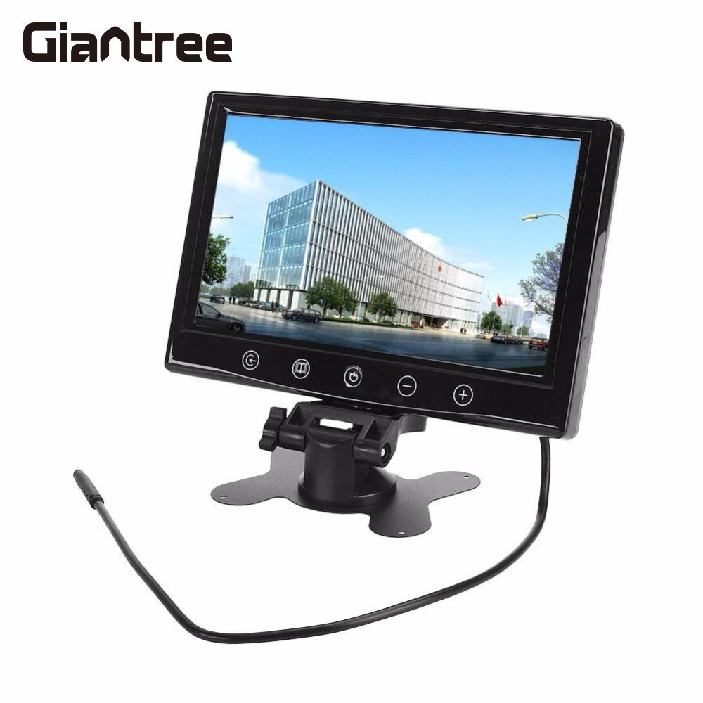 Giantree Car Monitor 9 Pollici TFT LCD Rear View Camera Monitor Telecamere di SorveglianzaGiantree Car Monitor 9 Pollici TFT LCD Rear View Camera Monitor Telecamere di Sorveglianza