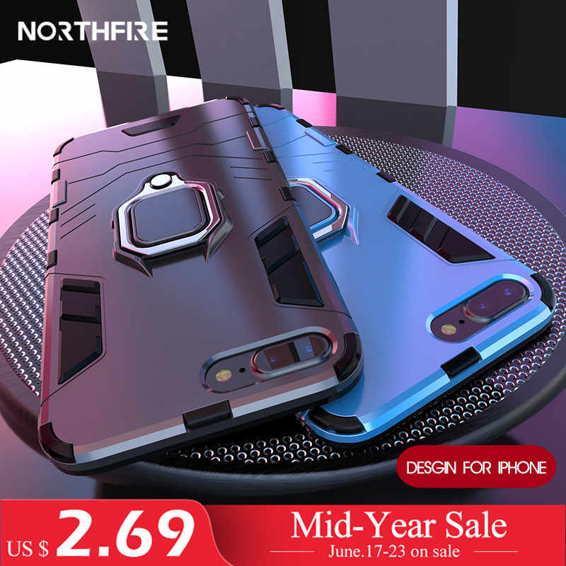 NORTHFIRE Shockproof Case For Xiaomi Redmi Note 5/6 pro 4/4X Magnetic Car Holder Case For Xiaomi MI8 Lite A1/A2 Mix 2 S 5X/6X