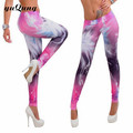 Women workout leggings galaxy space printed leggins girl rock punk legins woman fitness legging pants capris yuga Activewear