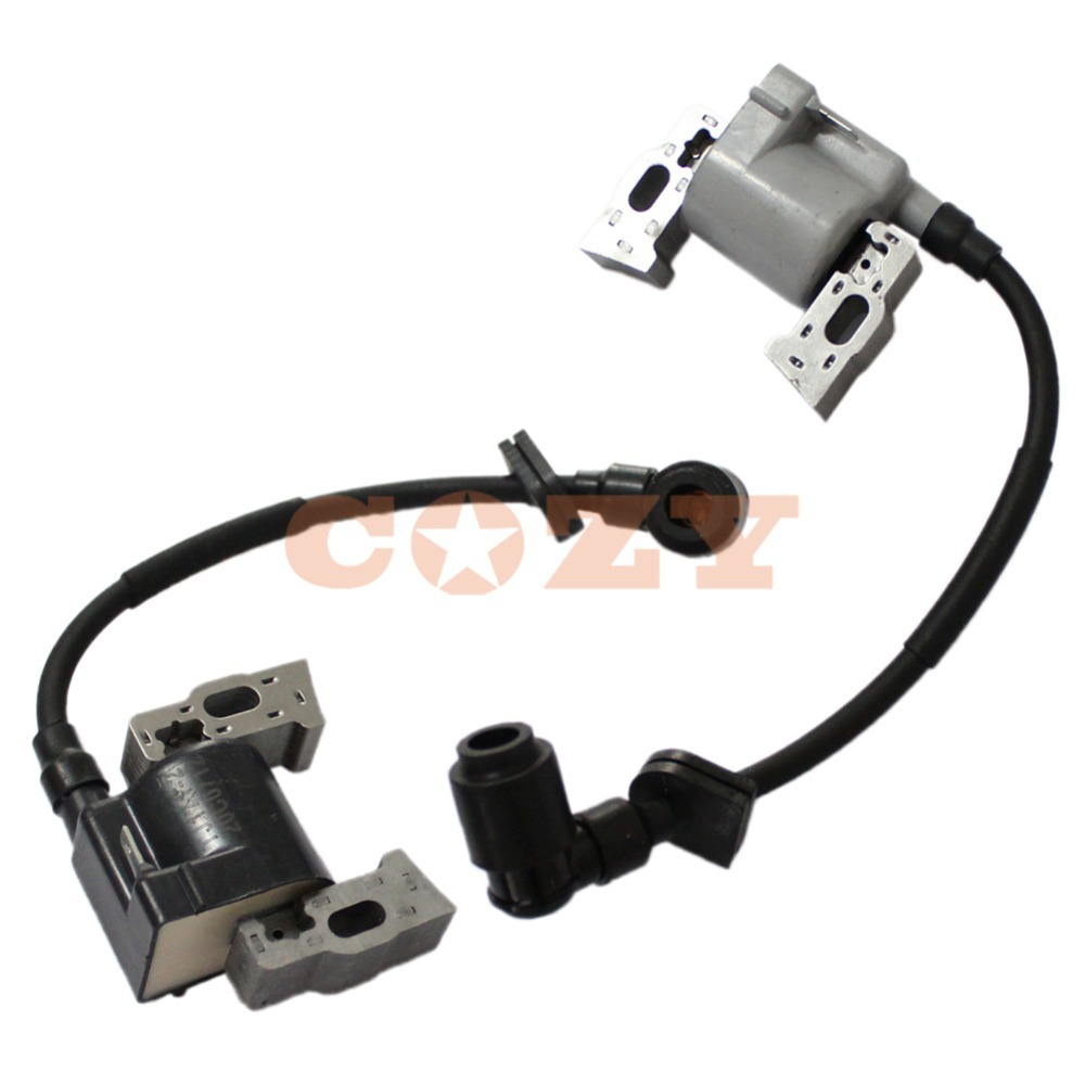 hight resolution of set of 2 ignition coil l r for honda gx610 gx620 gx670 gxv610 gxv620 gxv670