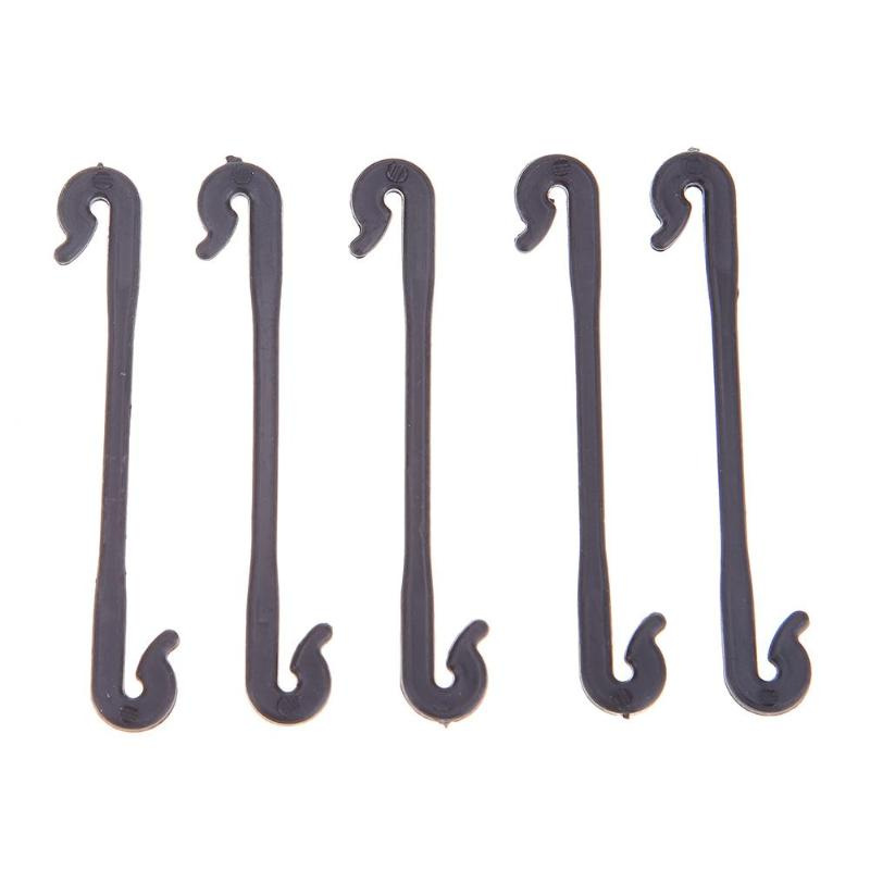 50 Garden Plants Vegetable Graft Clip Vine Fasteners Buckle Buckle Fixed Lashing Hook Support Agricultural Greenhouse Clip