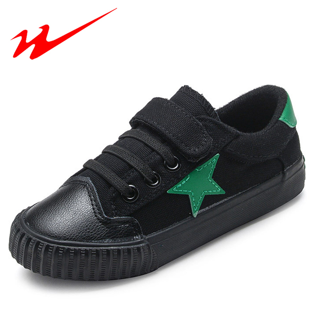 DOUBLE STAR Kids Shoes Warm Velcro Soft Children Shoes For Girls And Boys Winter Star Walking Shoes Outdoor Kids Sneakers