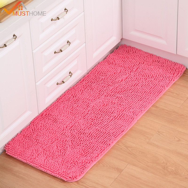 50x120cm 19 X47 Modern Kitchen Rugs 100 Microfiber Polyester Mats For