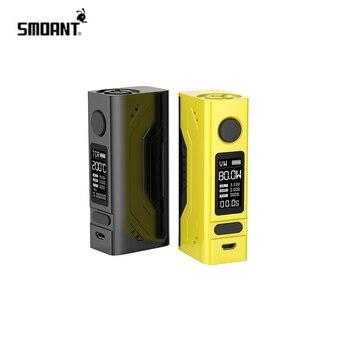 цена на Original Electronic Cigarette Smoant Battlestar Mini 80w TC vape mod 18650 battery smoant box mod 0.96 inch screen mod vs Charon