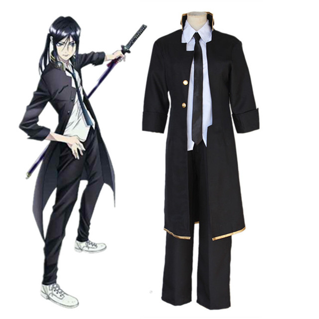 Anime K K-project K RETURN OF KINGS Yatogami Kuroh Cosplay Costume Halloween  Clothes New