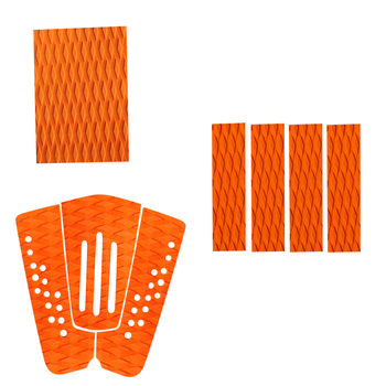 3 Set Non-Slip EVA Surfboard Traction Pad Surfboard Deck Pads SUP Surf Grip Tail Pads Traction Pad Accessories  1