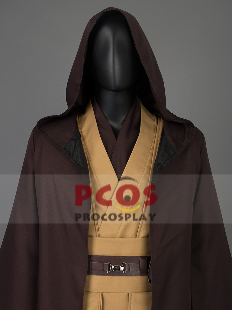 STOCK Star Wars Obi Wan Kenobi Jedi Knight Mace Windu Cosplay Costume mp002632