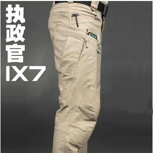 High quality Commander Urban Tactical IX7 Pants Military Combat Army Training Trousers YKK Zipper Cotton Travel Cotton Long Pant