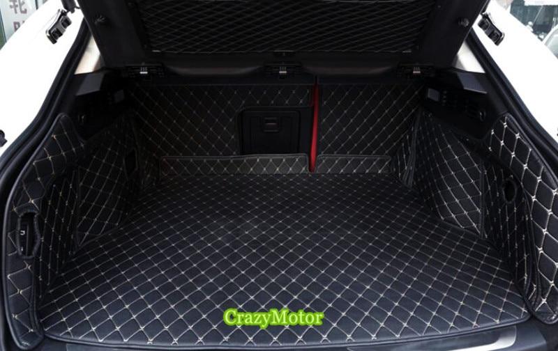 Car rear trunk mat For Maserati levante 2016 2017