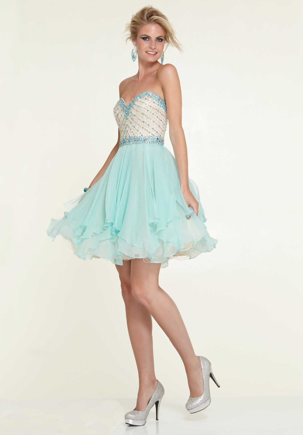 Compare Prices on Short Light Blue Homecoming Dresses- Online ...