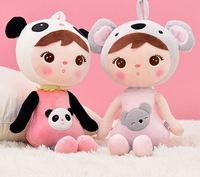 original metoo 50cm high quality Sweet Cute Angela rabbit doll Metoo baby plush doll for kids panda butterfly bee poupee dolls