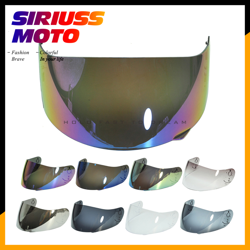 Motorcycle Helmet Visor Lens Full Face Shield Case for AGV GP Pro S4 Airtech Stealth Q3