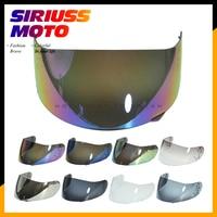 Motorcycle Helmet Visor Lens Full Face Shield Case for AGV GP Pro S4 Airtech Stealth Q3 Titec