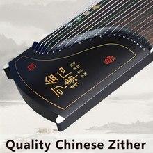 Китайский guzheng Инструмент традиционные Zither Музыкальные инструменты Этническая музыка 21 Струны для начинающих с аксессуарами