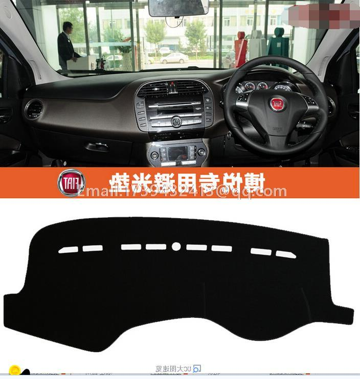 car dashmats car-styling accessories dashboard cover for Fiat Bravo Ritmo 2007 2008 2009 2010 2011 2012 2013 2014 2015 2016 for mazda 6 2008 2013 accessories chrome door handle atenza 2009 2010 2011 2012 sedan wagon cover car sticker car styling