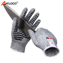 Anti-cut Tactical gloves Safety Cut Proof Stab Resistant Stainless Steel Wire Metal Mesh Butcher Cut-Resistant Safety Gloves 1 pair high quality pin nylon working gloves oil resistant nitrile safety gloves