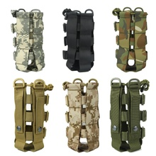 Tactical Water Bottle Pouch Military Molle System Kettle Bag Camping Hiking Travel Survival Kits Holder PRO mounchain camping drawstring water bottle pouch high capacity insulated cooler bag for traveling camping hiking
