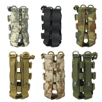 Tactical Water Bottle Pouch Military Molle System Kettle Bag Camping Hiking Travel Survival Kits Holder PRO camping sports water bag new outdoor tactical military molle system bottle bag kettle pouch holder