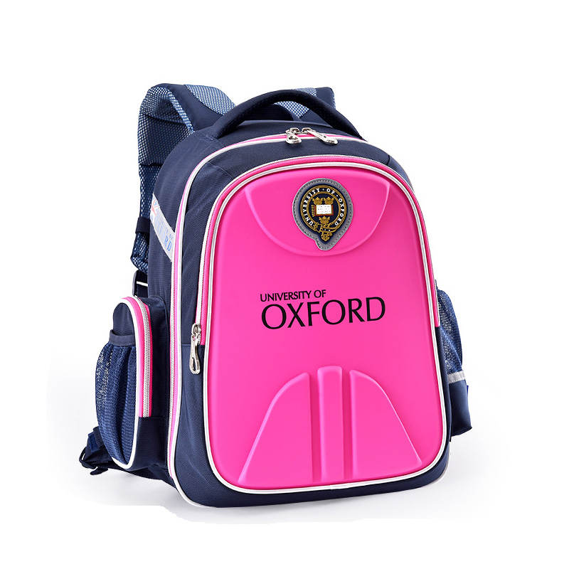 UNIVERSITY OF OXFORD children student books orthopedic school bag backpack portfolio rucksack for girls for class