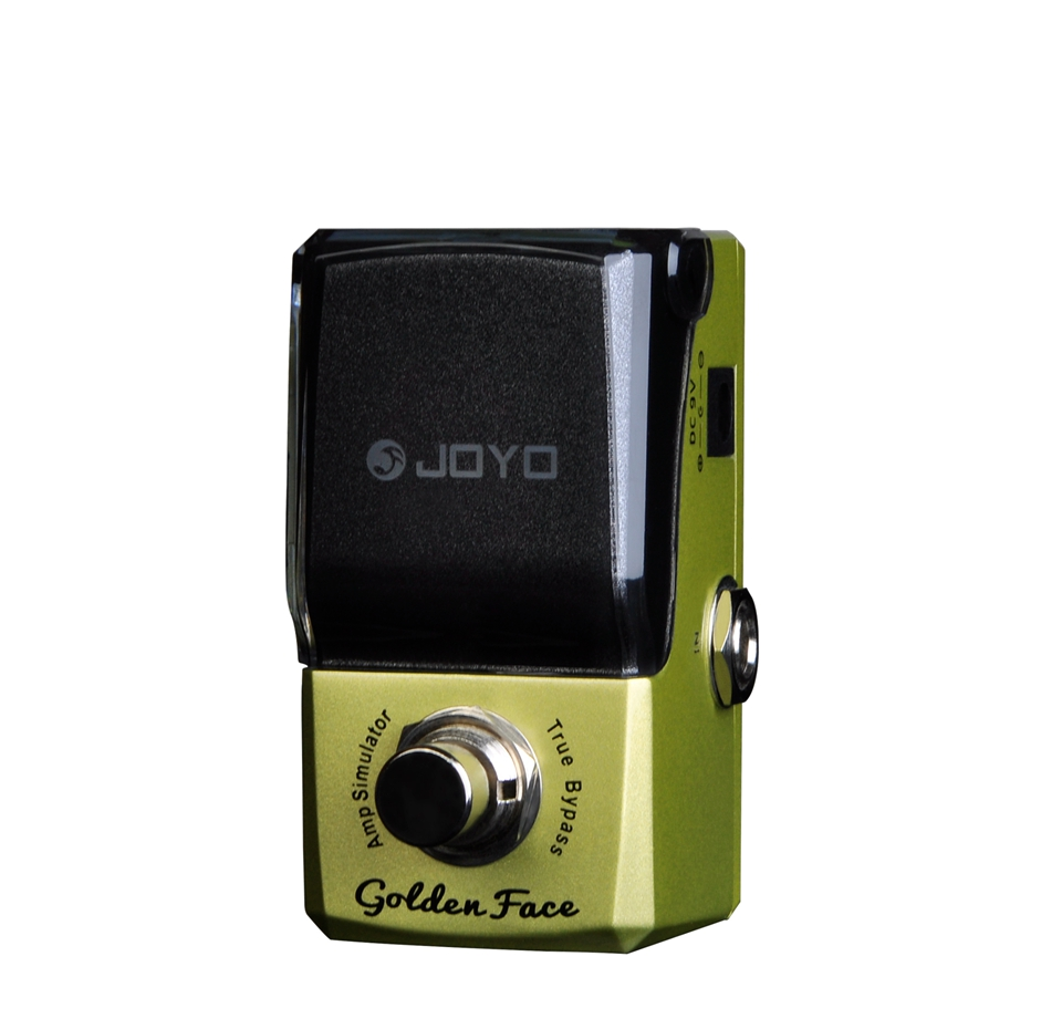 JOYO Marshall Amp Simulator Guitar Effect Pedal Medium-high frequency and rugged Marshall sound mini micro battery powered portable guitar amp classic marshall guitar portable and lightweight