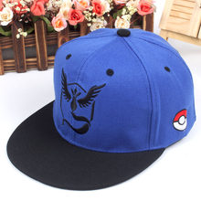 Nueva moda bebé mágico Pokemon Go Pocket Monster espíritu hip-hop instinto Pokemon  gorra de béisbol para Mujeres Hombres sombrer. 6f260938e08