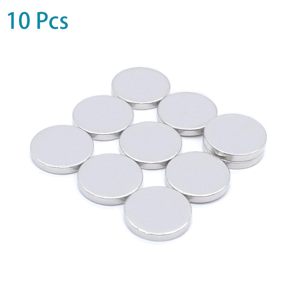 10Pcs Mini Small N38 Magnet 10x1 10x2 12x1 12x2 15x1 Mm Neodymium Magnet Permanent NdFeB Super Strong Powerful Magnets