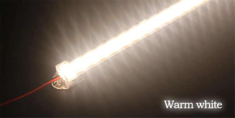 1 قطعة/عمود إضاءة LED أضواء DC12V 5630 الصمام جامدة قطاع 30 سنتيمتر أنبوبة ليد مع U الألومنيوم قذيفة + PC غطاء