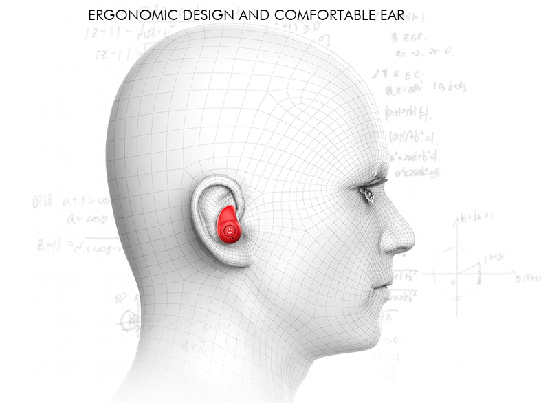 Mini Bluetooth headset sport ear hanger invisible Twins Wireless Stereo Earphone Bluetooth Earphone