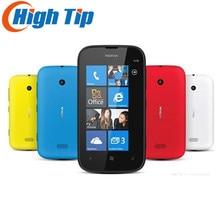 Marke Nokia Ursprünglicher frei Lumia 510 5MP WIFI 4,0 Zoll GPS Windows OS 4 GB Internen Speicher handy Refurbished Freeship