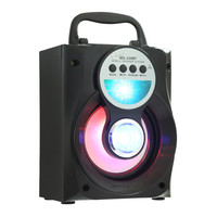 Original Loudspeaker Eonec MS - 229BT Portable Bluetooth Speaker Bass LED Backlight FM AUX Input