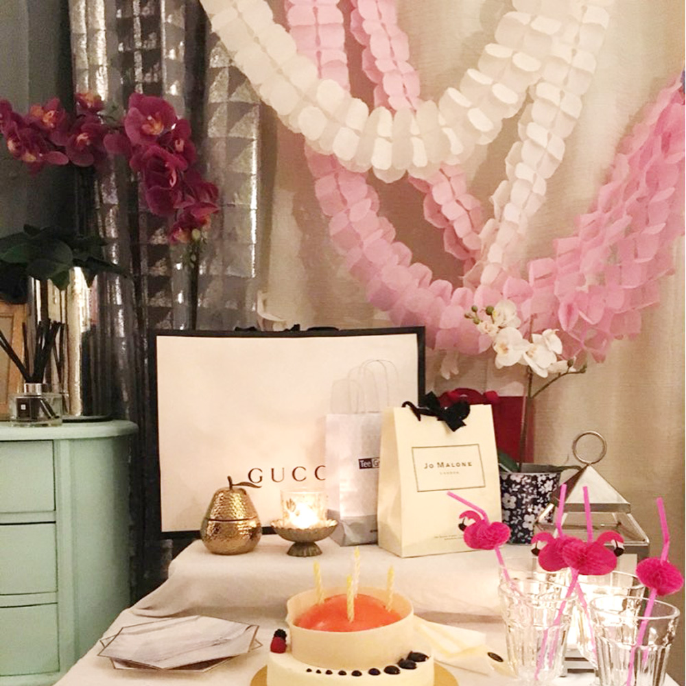 Bryllup dekoration Pink Prinsesse Tema Papir Garland Puff Tissue Have - Varer til ferie og fester - Foto 5
