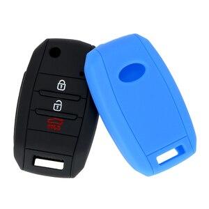 Image 5 - LEEPEE Car Key Case Shell Flip Folding Key Bag Cover Protector For KIA CEED Picanto Sorento Sportage Venga Rio Soul Carens