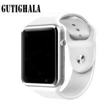 Gutighala A1 relógio de Pulso Bluetooth Relógio Inteligente Pedômetro Esporte Câmera SIM Smartwatch Para Android Smartphone Melhor do que DZ09