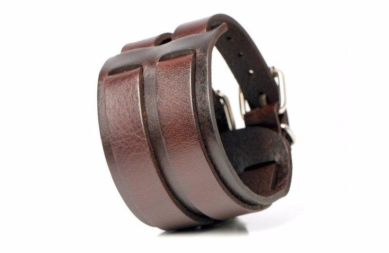 Bobo Cover Genuine Handmade Leather Men Women's Bracelets High Quality Wrap Minimalist Style Trendy Charm Leather Bracelets