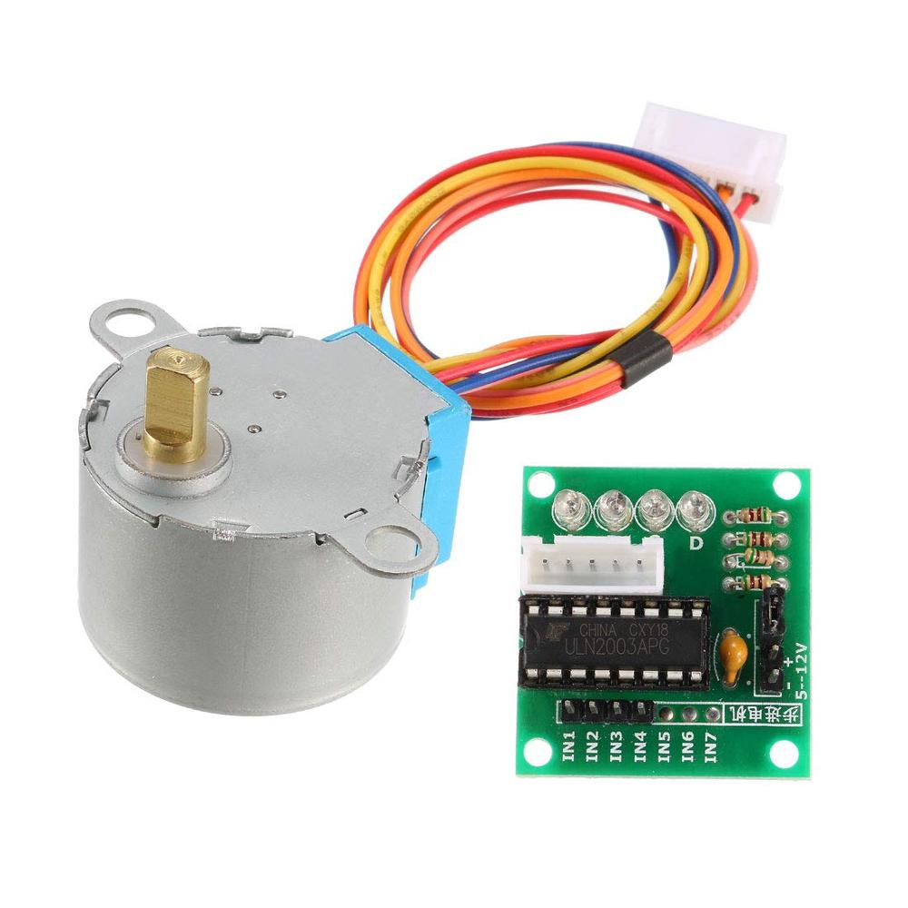 Smart Electronics 28BYJ 48 5V 4 Phase DC Gear Stepper Motor + ULN2003 Driver Board for arduino DIY Kit|Stepper Motor|   - AliExpress