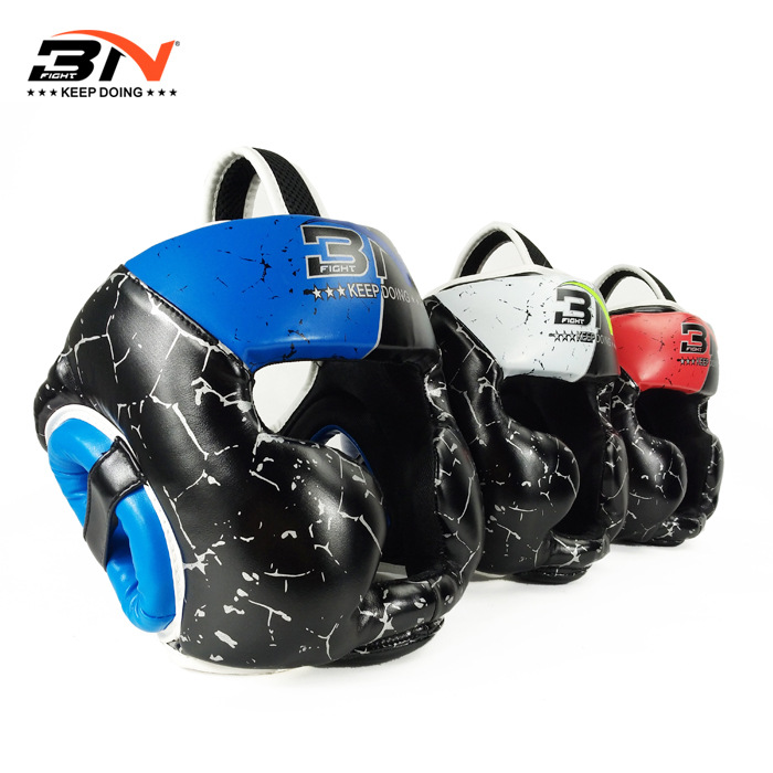 BN 2-5years Crianças Capacete Boxe Sanda Muay Thai MMA Artes Marciais Sparring Headgear Protetor Equipamento de Treinamento de Luta Karate DEO