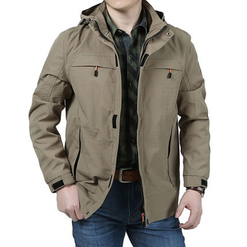 Mens Rain Jacket - Coat Nj
