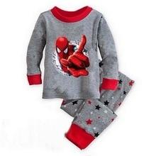 Новинка; распродажа; Детские пижамные комплекты; пижамы с героями мультфильмов; детская хлопковая Повседневная семейная одежда для сна; детская ночная рубашка; милые пижамы для девочек; YW273